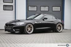 BMW Z4 NTM Rennsport Felgen