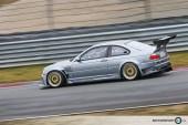 Grey BMW M3 E46 GTR Race Car