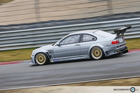 Grey BMW M3 E46 GTR Race Car