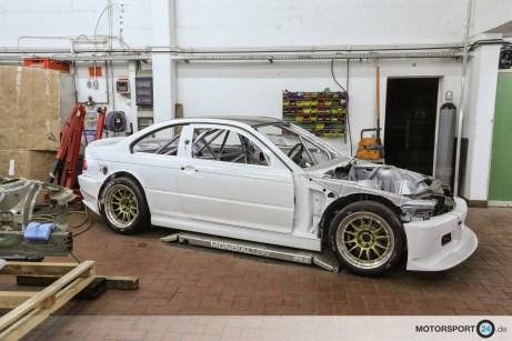 BMW M3 E46 GTR Umbau