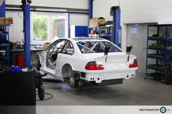 BMW M3 E46 Race Car Build