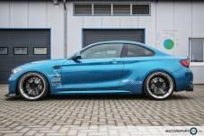 BMW M2 F87 NTM Felgen