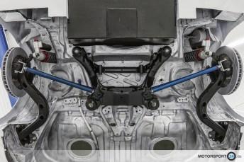 BMW M3 E46 GTR Achse hinten