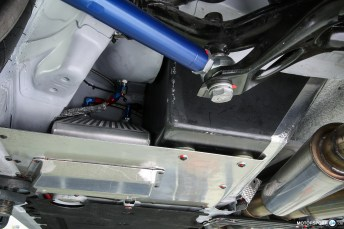 BMW M4 GTR Differential Cooling