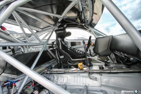 BMW M4 GTR Interieur Zelle Carbon Dashboard