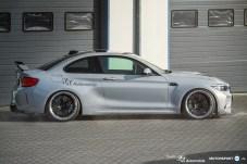 BMW F87 M2 Tracktool Carbon Teile