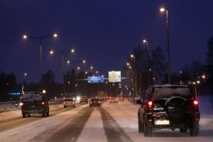 Vaikeat ajo-olosuhteet vaativat ennakointia ja tarkkuutta