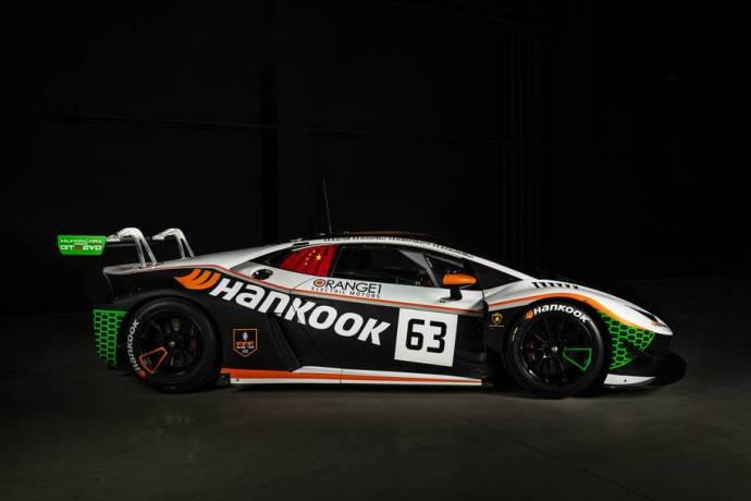 Italian nelikko ajaa uuden Hankook FFF Racing Teamin nimissä 49. ADAC TOTAL 24h -kisassa