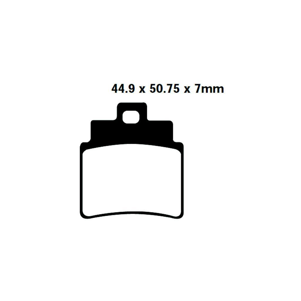 Bremsklötze Arctic Cat DVX250/300 hinten, 12,06 GBP