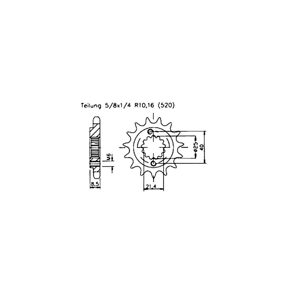 Ritzel Z.16 Dinli DL901 902 904 DMX Dinli 450 Spezial