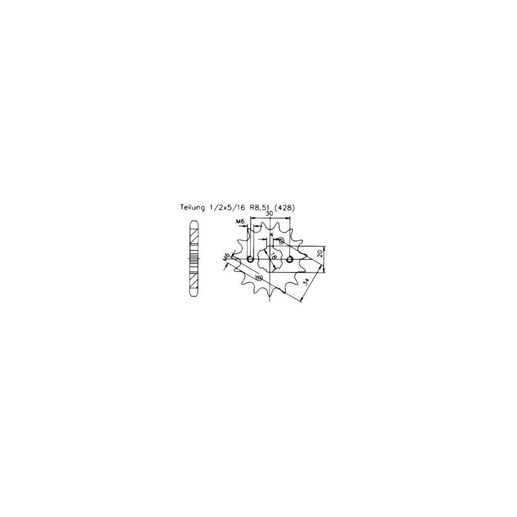 Ritzel Z 17 Daelim Vl 125 Daystar Fi High Speed Tuning 7