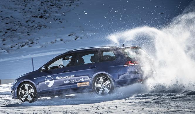 Escola 4Motion da VW: aprenda a conduzir sobre a neve e gelo