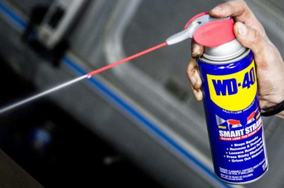 Sabia que o WD-40 serve mais para além de lubrificar?