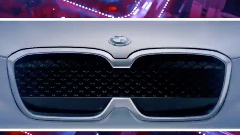 BMW revela um pedaço do seu novo crossover eléctrico iX3 antes do salão automóvel de Pequim