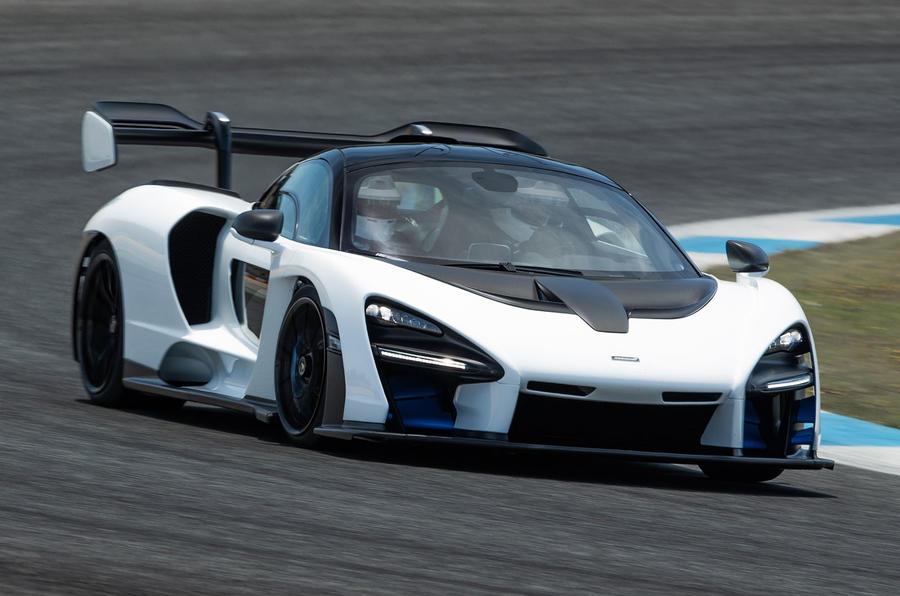 McLaren Senna é mais rápido do que P1 em Portimão.