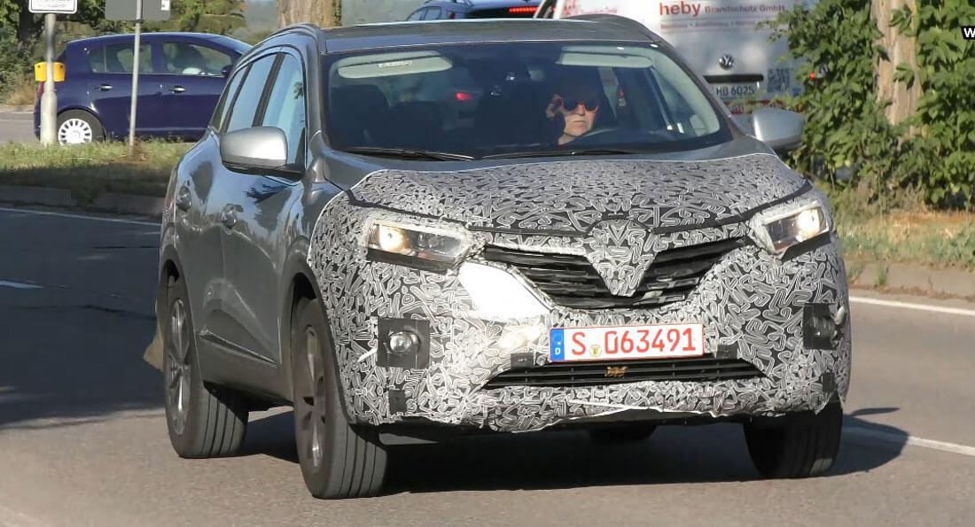 Novo Renault Kadjar apanhado em testes na Alemanha