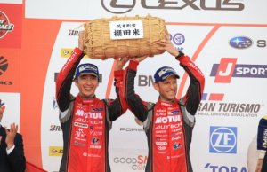 Quintarelli and Matsuda secures 4th GT500 title