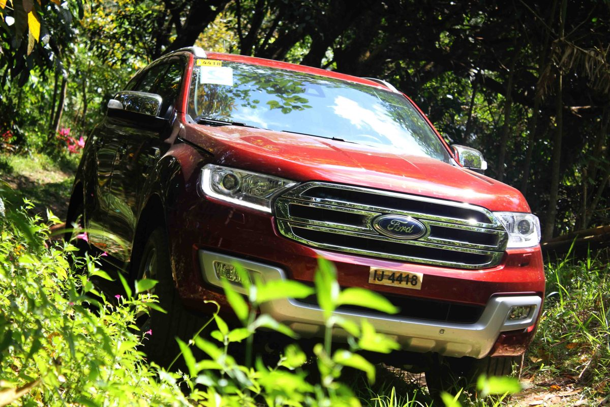 Surviving in the Jungle with the Ford Everest