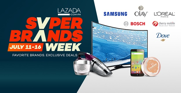 Online Shopping Lazada to hold 6-day Super Brands Week SALE