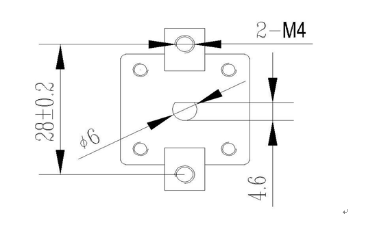 Capillary thermostat with stainless capillary , UL and VDE