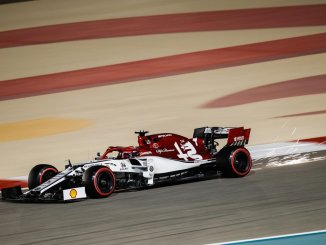 Kimi durante el GP de Bahrein