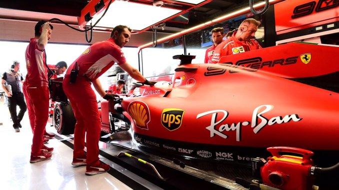 Box de Ferrari