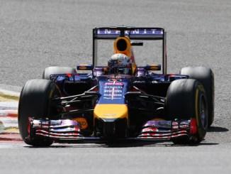 Vettel en Spa en 2014