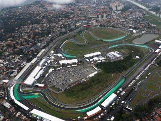 Circuito de Sao Pulo desde el aire