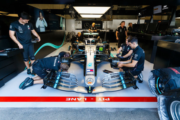 paquete de mejoras de Mercedes