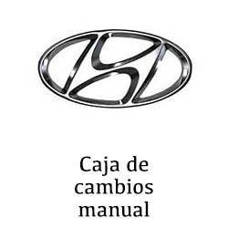Sustitución de caja de cambio manual Hyundai en Valencia