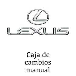 Sustitución de caja de cambio manual Lexus en Valencia