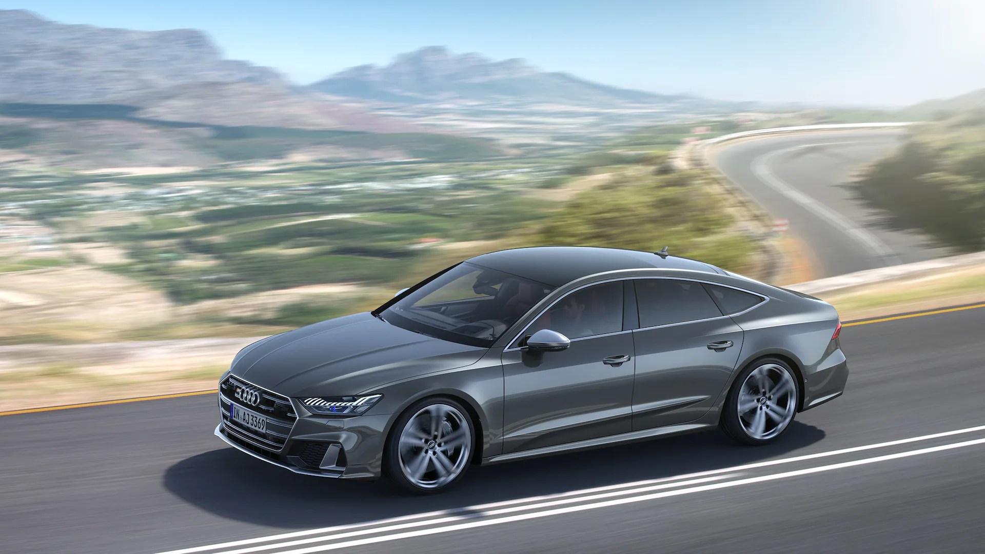 Audi Debuts 450 Hp 2020 Audi S6 Sedan And S7 Sportback
