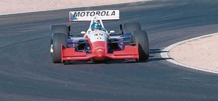 brix comptech indy car rocket sled on
