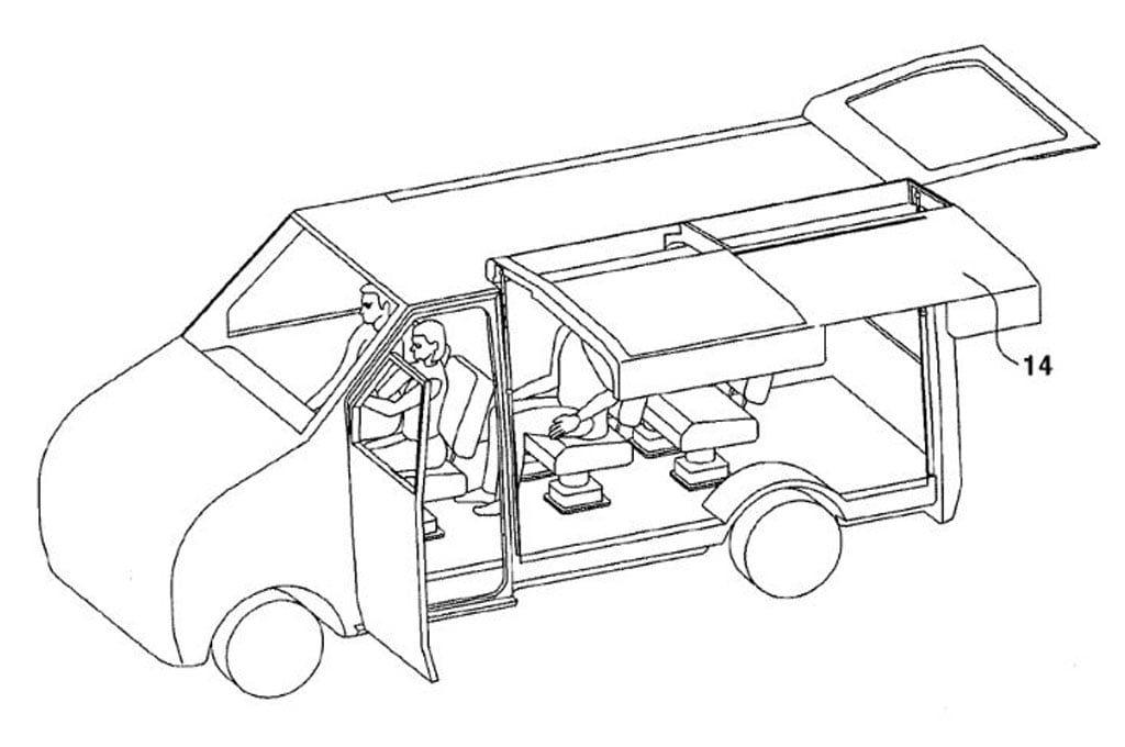 Hyundai Applies for Patent on Sliding Gullwing Doors