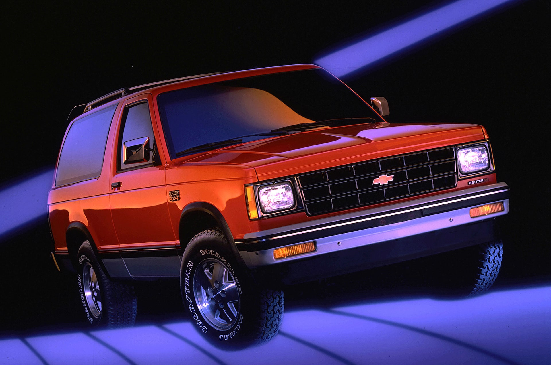 chevrolet blazer photos and history from truck based suv to car based crossover