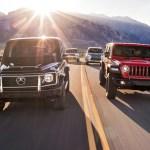 Dirty Deeds Lexus Lx Vs Jeep Wrangler Vs Mercedes Benz G Class Vs Land Rover Discovery