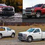 Ford Vs Chevrolet Vs Ram Heavy Duty Truck Prioritizer