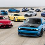 World S Greatest Drag Race 9 Watch 12 Of The Fastest Production Cars Compete