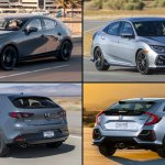 2020 Honda Civic Hatchback Vs 2020 Mazda3 Which One Should You Buy