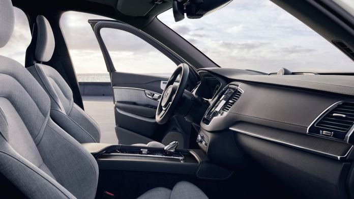 2021 Volvo XC90 T8 Tailored Wool Interior Review: Wooly Bully