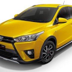 Toyota Yaris Trd Limited Grand New Avanza Vs Calya Sportivo รุ่นสีเหลืองพิเศษ Edition