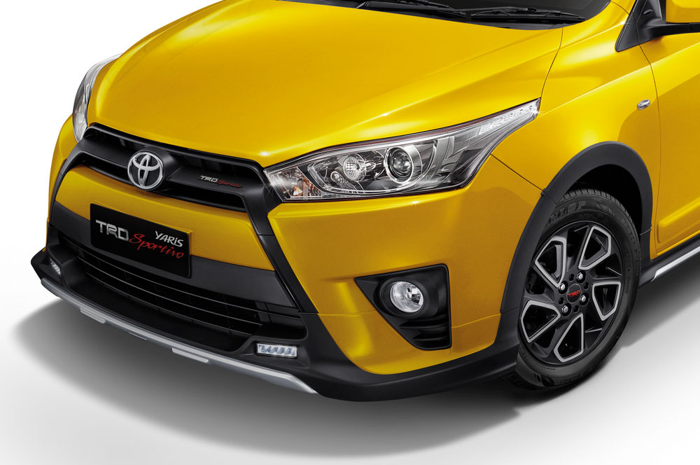 toyota yaris trd sportivo cvt spesifikasi oli grand new avanza รุ่นสีเหลืองพิเศษ limited edition