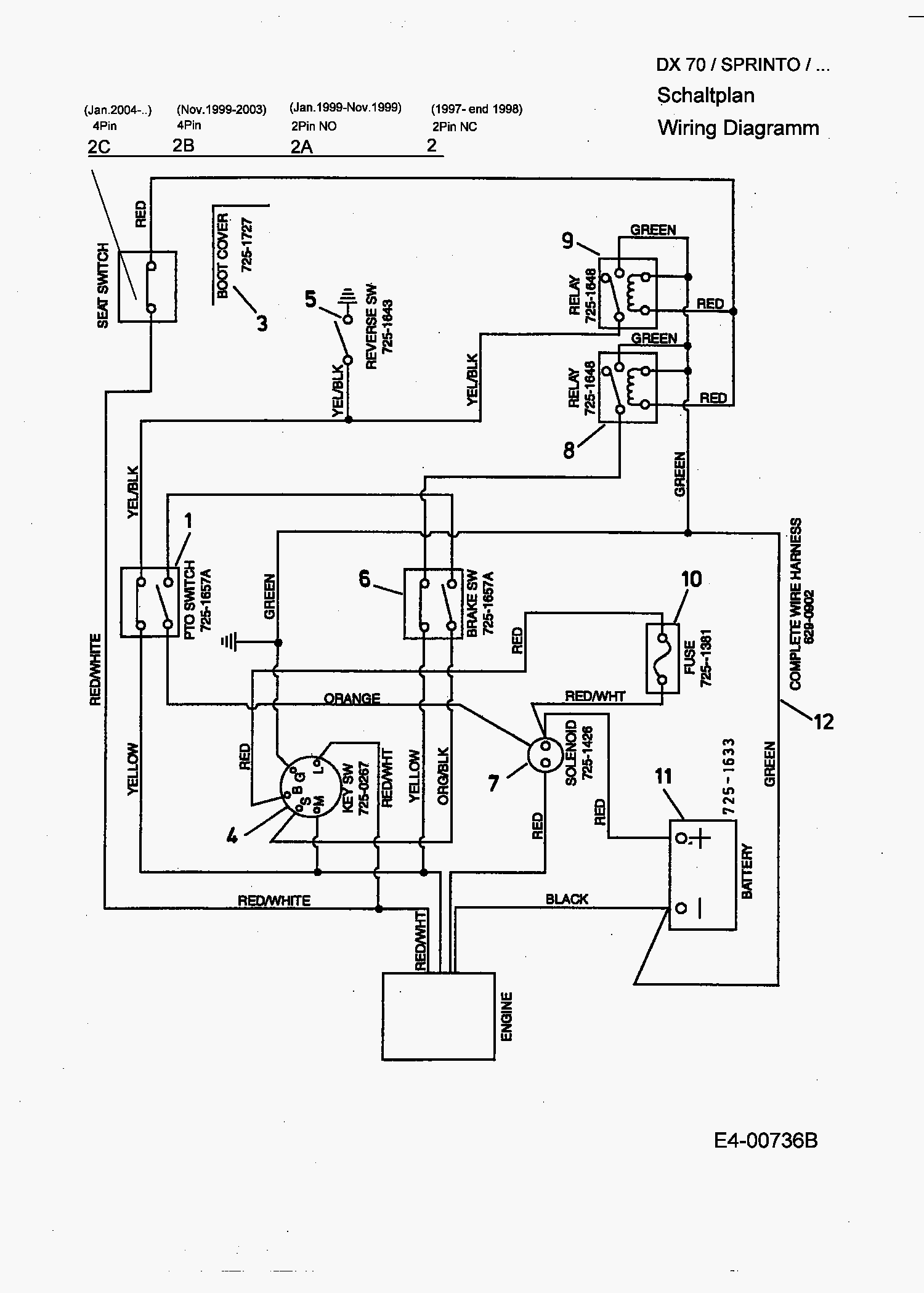 mtd solenoid wiring diagram tekonsha prodigy rf for yard machine get free image about