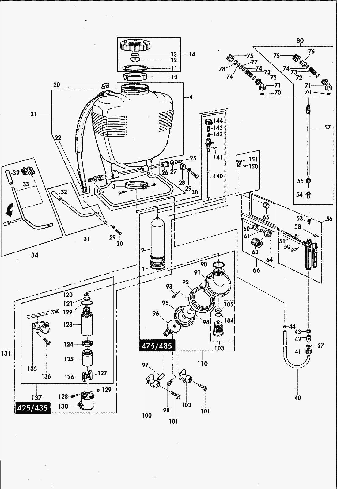 Protexus sprayer parts diagram