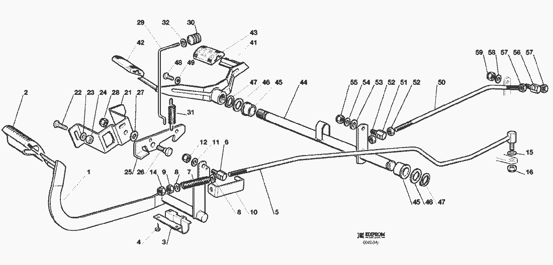 Spare Parts Lists for Solo Lawn Mower DRIVE AND BRAKE