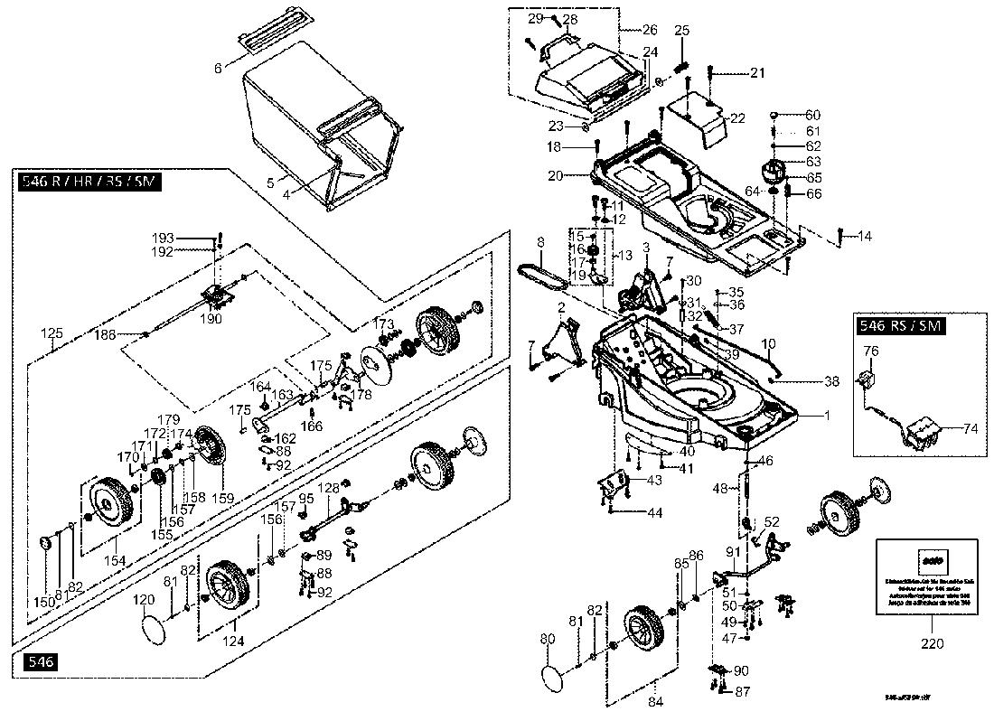 Honda Rasenmaher Parts