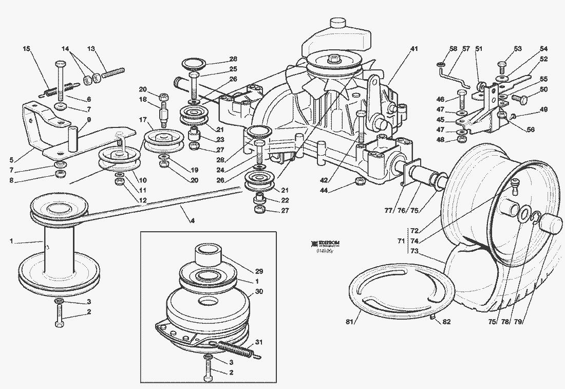 Briggs Motor Parts. Ersatzteillisten Fr Solo Rasenmher