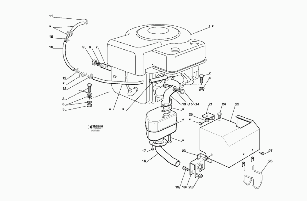 4 hp briggs and stratton carburetor diagram