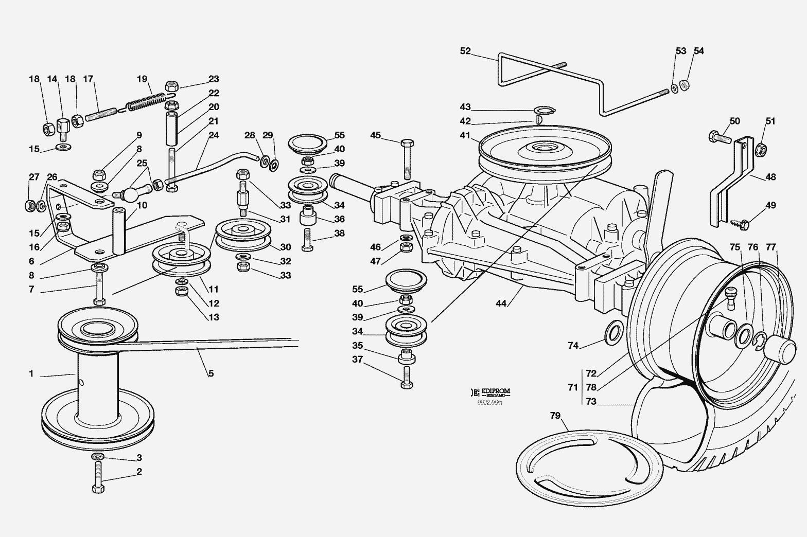 11 Hp Honda Wiring Diagram Ersatzteillisten F 252 R Solo Rasenm 228 Her Getriebe J92 Jp92