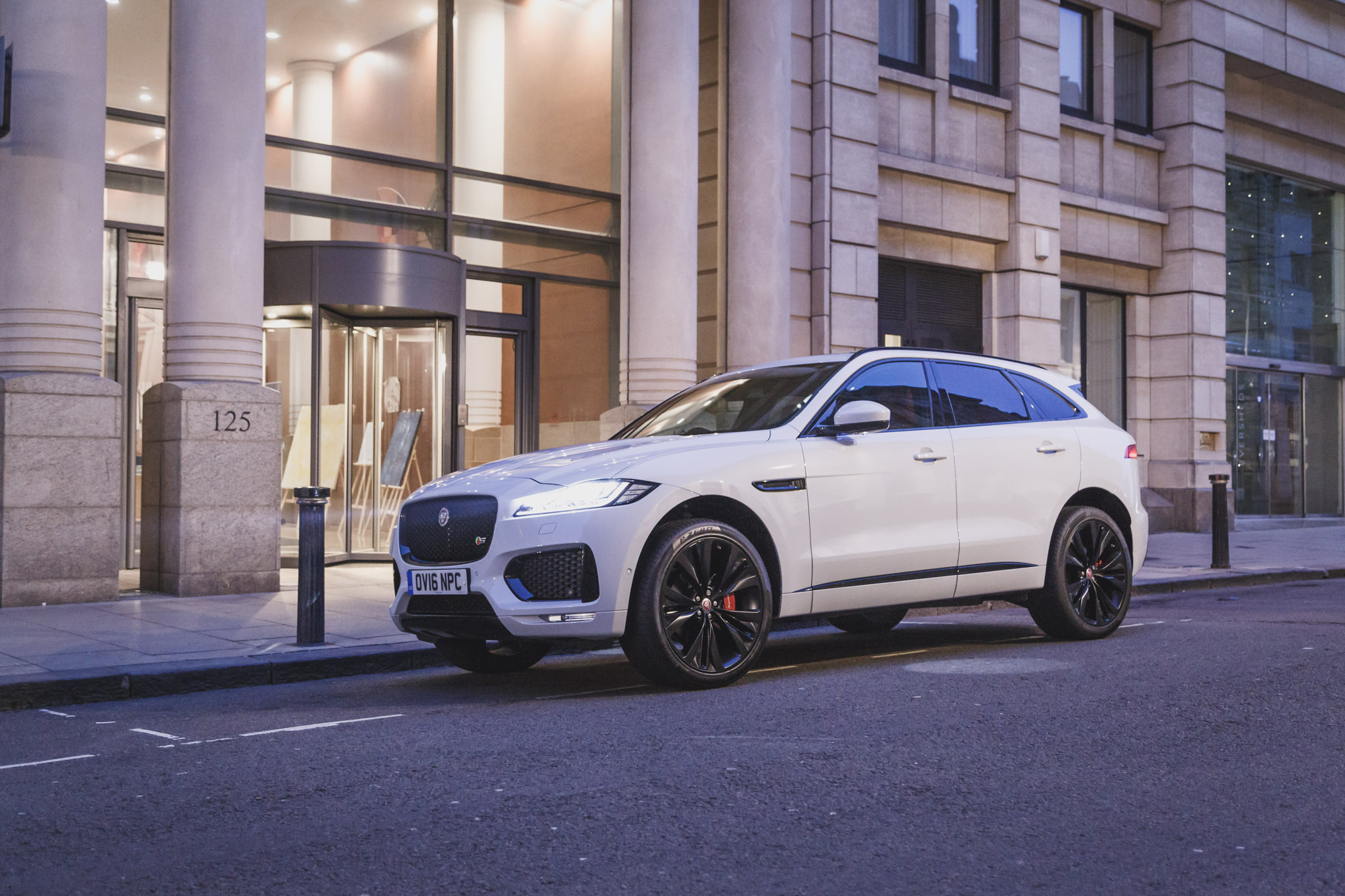 2016 Jaguar FPace S Review  Practical Capable And Good Performer